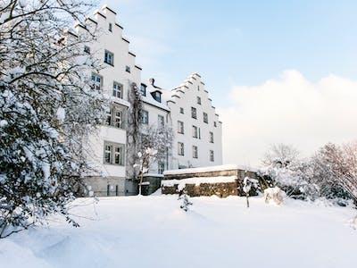 castle in wintertime