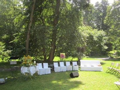 Hochzeit Park