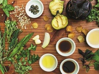 Kräuter und Öle